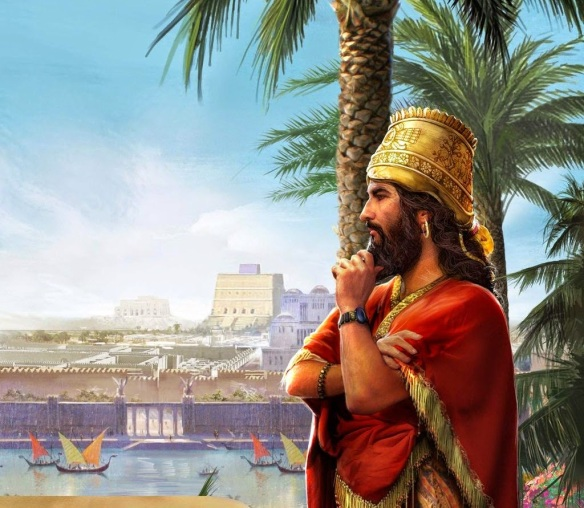 1-Nabucodosonor II Rey de Babilonia