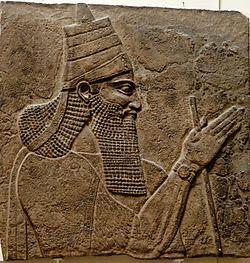 15-Rey Asirio Salmanasar III
