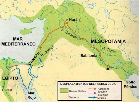 17-Desplazamientos del pueblo judio