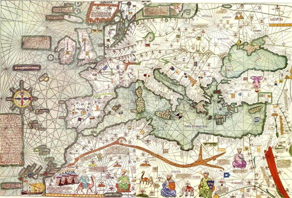 29-Atlas Catalám de 1375 (Marco Polo)