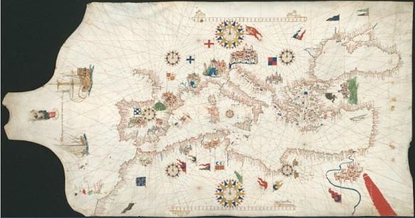 32-Cartografía Portulana