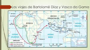 42-Viajes de Bartolomé Díaz y Vasco de Gamma