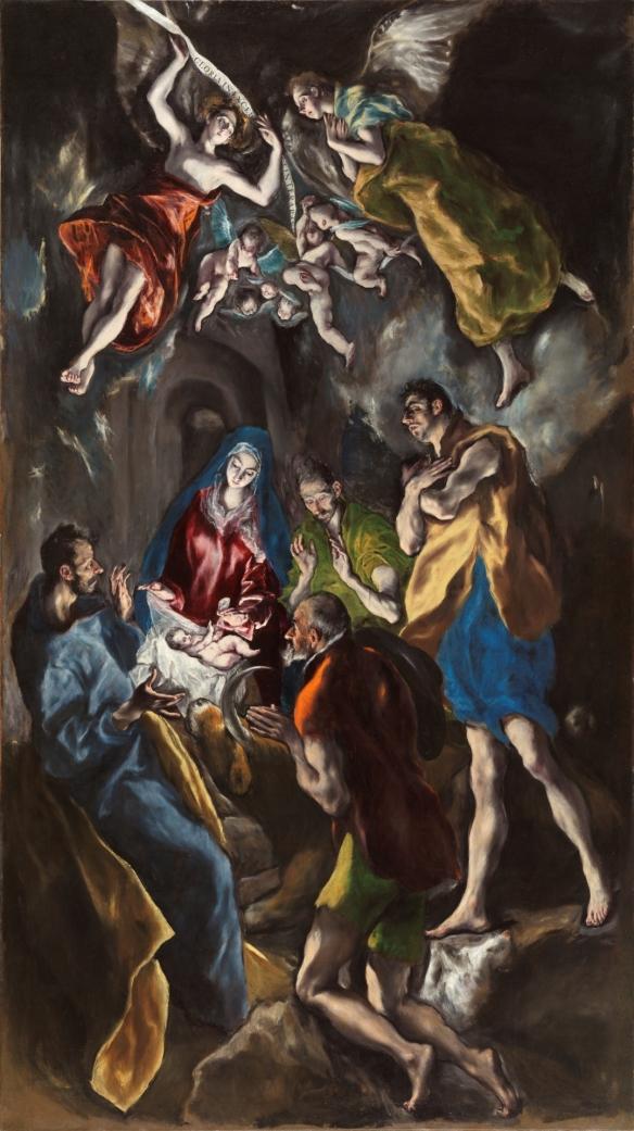 44-Adoración de los pastores Greco