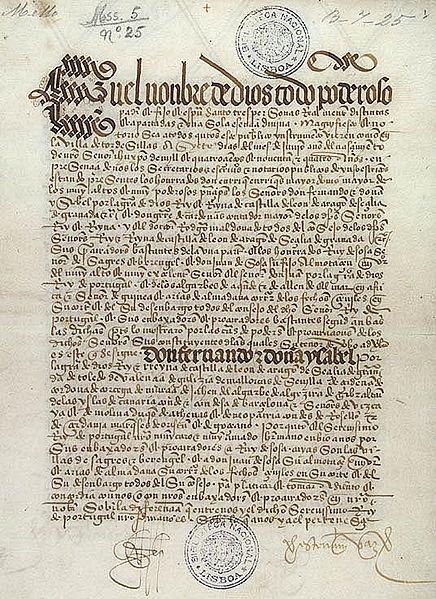 44-El Tratado de Tordesillas 1494