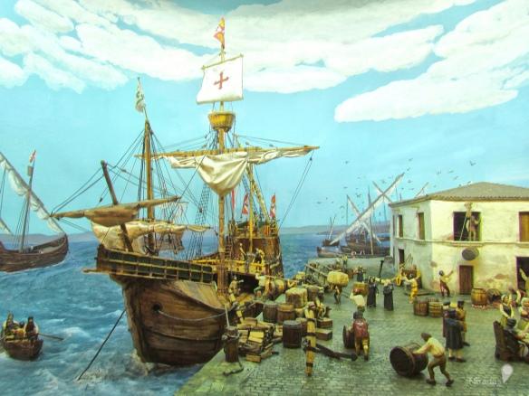 47-Puerto de Palos en 1492