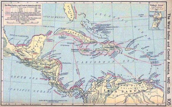 50-América Central en 1492-1525