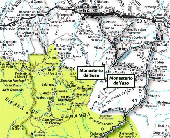 17-Mapa de situació del Monasterio de Suso y de Yuso-metirta.online