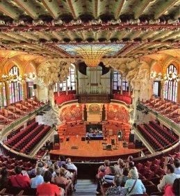 32-Palau de la Música Catalana, obra modernista-metirta.online