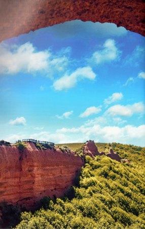 6-Vista de las Médulas desde el mirador de Orellán-metirta.online