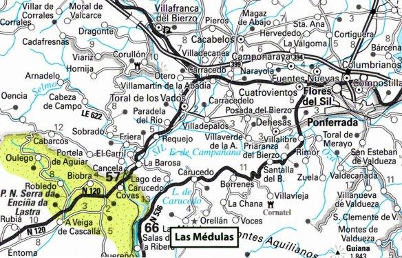 7- Mapa de situación de las Médulas-metirta.online