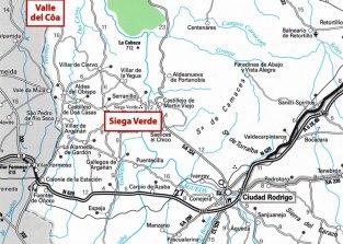 1-Mapa de situación de Siega Verde
