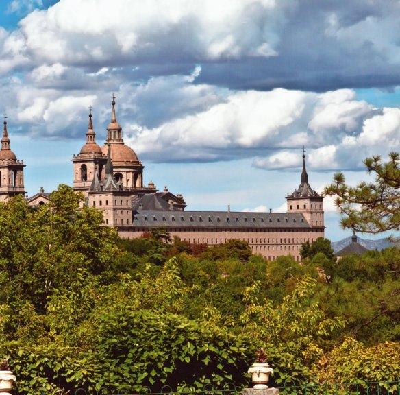 10-Vista del Monasterio de San Lorenzo de el Escorial