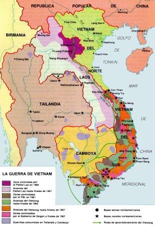 12-Mapa guerra del Vietnam