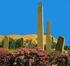 33-Estelas y obeliscos del reino de Aksum S. I