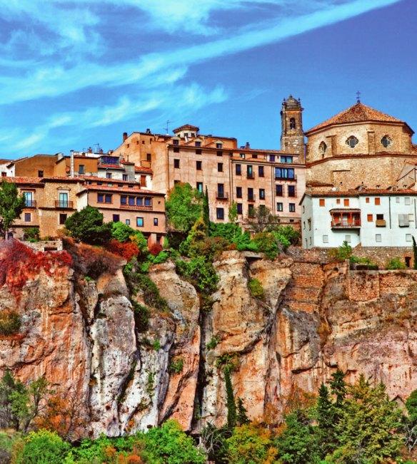 37-Ciudad de Cuenca situada sobre las hoces de los rios Júcar y Huécar-metirta.online
