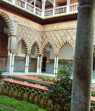 4-Patio de las Doncellas,Reales Alcáceres de Sevilla-metirta.online