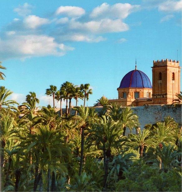 43-Basílica de Sta Mª y Torre de Calaforra desde el Palmeral-metirta.online