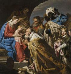 8-La Adoración de los Magos M. Stomer (s.XVII)-metirta.online