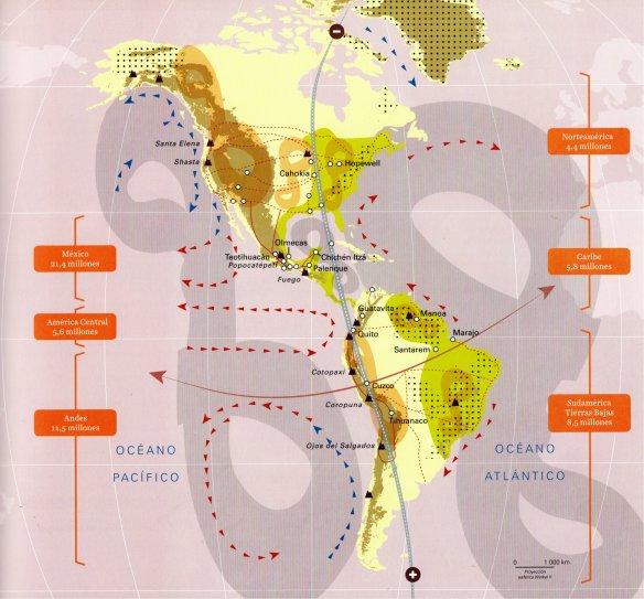 mapa el mundo americano-metirta.online