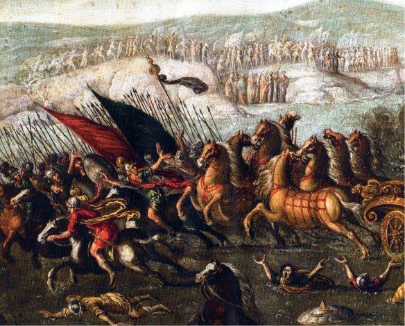 5-Los israelitas cruzan el mar Rojo, SXVII,metirta.online