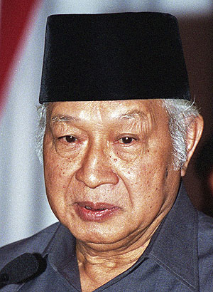 6-Presidente Suharto (1970-1998)