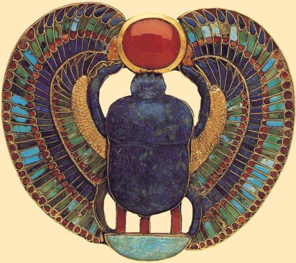14-Escarabajo alado de Tutankamon