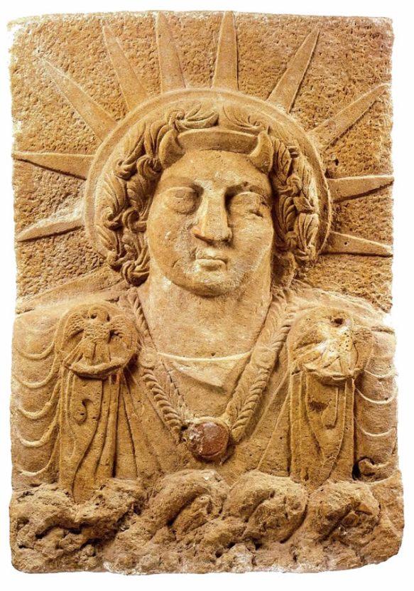 3-Shamash dios babilonico del sol