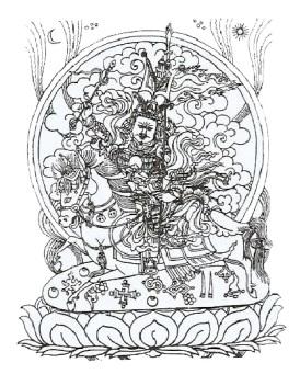 5-El rey Gesar con todas sus armas-metirta.online