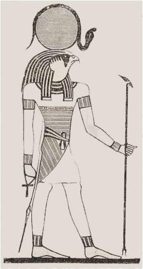 1-Ra Dios egipcio autogenerado con poder para crear a los seres vivos - copia