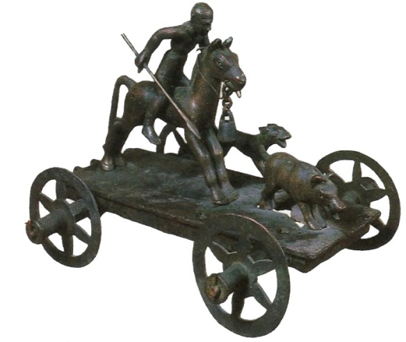 9-carro de bronce ritual -metirta.online