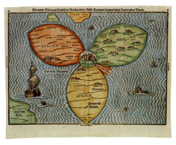 2-Hoja de Trébol 1581 Heinrich Bünting.metirta.online
