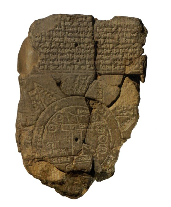 5-Mapa babilonio del mundo h700-500aC desconocido.metirta.online