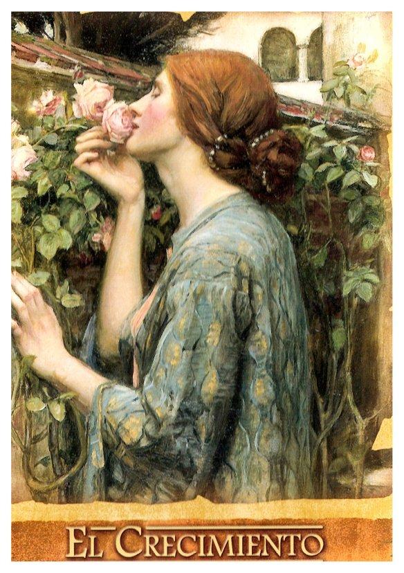 18-El alma de la rosa.John William Waterhouse.metirta.online