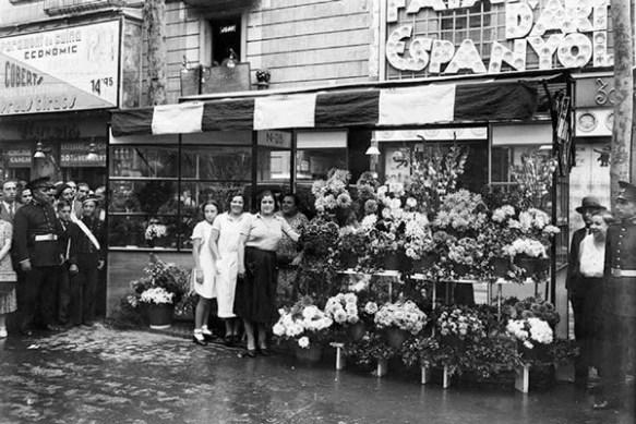 2-Las floristas de las ramblas de Barcelona