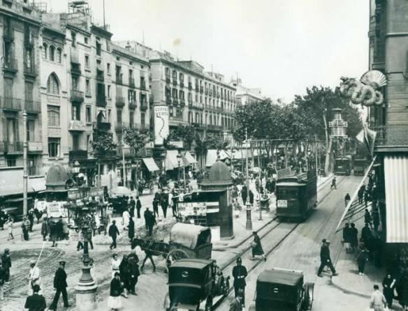 4-Ramblas de Barcelona 1936