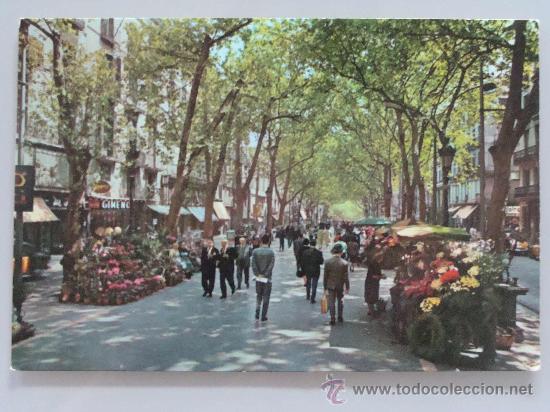 6-Ramblas de Barcelona 1961