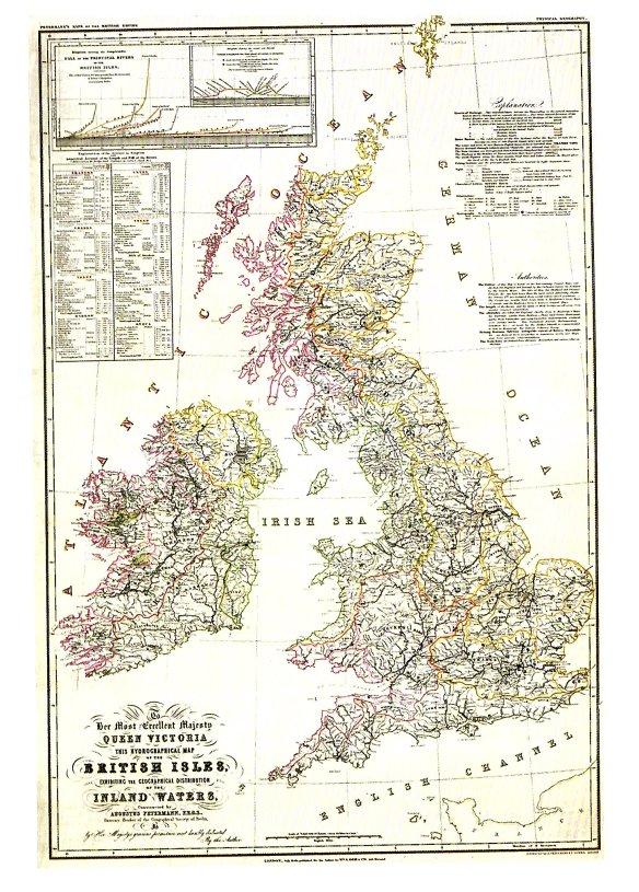 15-Mapa hidrográfico de las Islas Británicas 1849-metirta.online
