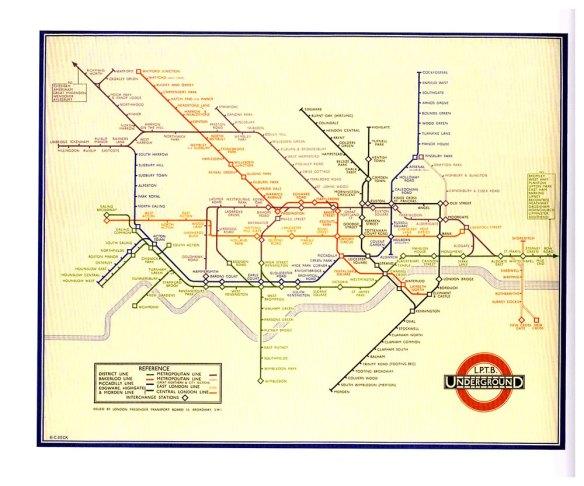 4-Metro de Londres 1933 Harry Beck.metirta.online